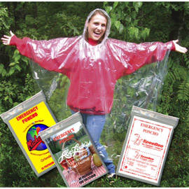 Glove Compartment Ponchos