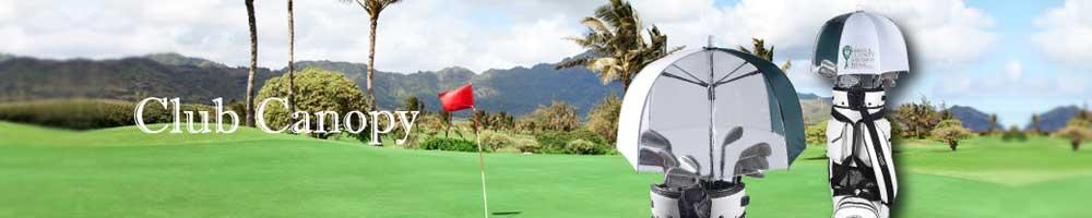 Club Canopy Golf Bag Umbrella