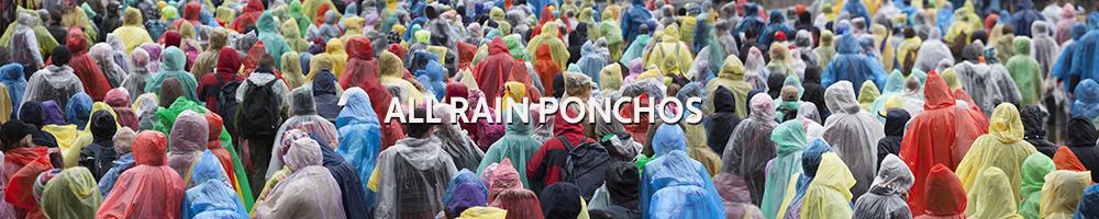 All Rain Ponchos